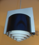 dutch painted metal ceiling light