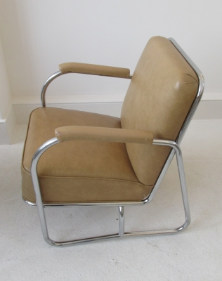 1930's chrome armchair