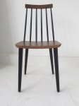 8 X dining chairs and two armchairs manufactured by Billund Traevarefabrik . Denmark 1950's