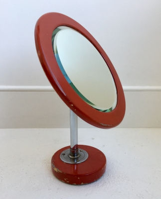1920's painted table mirror